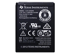 Texas Instruments TI Rechargeable Battery (No Pigtail Wire)