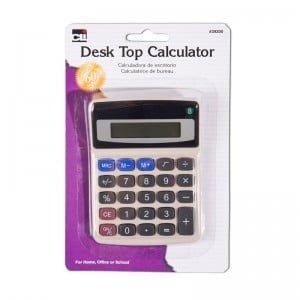 Basic Desk Top Calculator - Set of 12