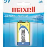 "Maxell ""9 Volt"" Batteries (Case of 12 Batteries)"